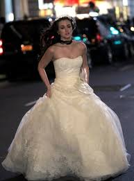 blair wedding dress has the damn gossip wedding happened yet i can t keep up