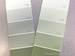 gray green paint color green in the bedroom from thrifty decor chick