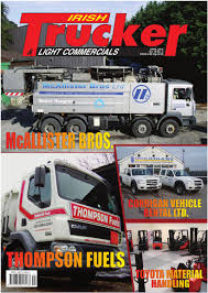 irish trucker u0026 light commercials magazine 2012 by lynn group