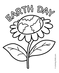 earth day coloring page download coloring pages 9880