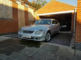 mercedes benz c200 cdi coupe face lift model 6 gears manual