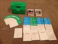 wildlife treasury cards vintage illustrated wildlife treasury animal flash cards green box