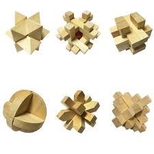 3d wooden cube brain teaser puzzle xben jigsaw puzzle games set