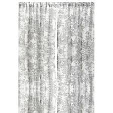 96 Inch Curtains Blackout by Toile Linen 96 Inch Curtain Panel By Cottage Home 96 Inch