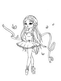 ballet dancer coloring alltoys for