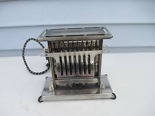 Clear Sided Toaster Antique Toasters Ebay