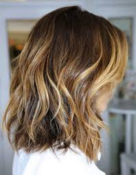 side bangs long hair hair style and color for woman