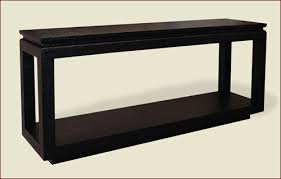 Parsons Console Table Lacquered Grass Cloth High End Custom Built Furniture Sold To The
