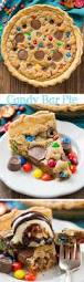 loaded m u0026m oreo cookie bars stuffed to the max with m u0026ms and
