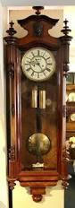 Grandfather Clock Weights Antiques Atlas Walnut Twin Weight Vienna Wall Clock