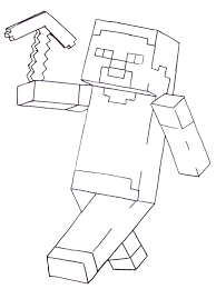 fun free printable coloring pages boys including minecraft