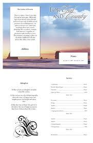 100 free funeral program template publisher 25 unique