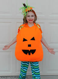 pumpkin costume diy pumpkin costume tutorial make it yourself girl
