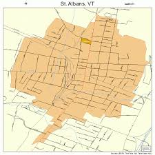 map of st albans st albans vermont map 5061675