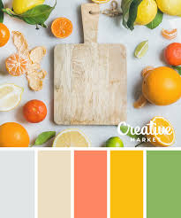 on the creative market blog 15 fresh color palettes for spring