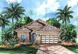 mediterranean bungalow plan 66058we architectural designs