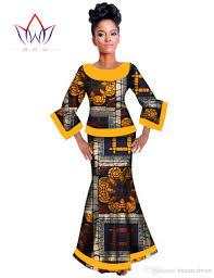 women dress fishtail skirt african clothing private custom made