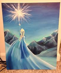 25 frozen painting ideas art toddlers
