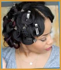 how to do pin curls on black women s hair pin curls look amazing on natural hair