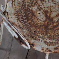 Metal Garden Chair Vintage French Metal Garden Chair
