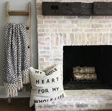 Ideas For Whitewash Furniture Design Best 25 Whitewashing Exterior Brick Ideas On Pinterest