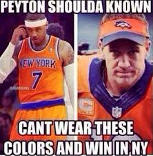 Melo Memes - nba memes on twitter peyton manning s real reason for losing