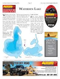 Map Of Saskatchewan Waterhen Lake Angler U0027s Atlas