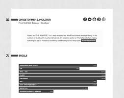 50 professional html resume templates web u0026 graphic design