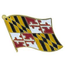 Flag Store Maryland Flag Lapel Pin