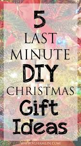 5 last minute diy christmas gift ideas food life design