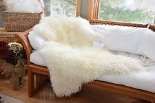 curly sheepskin ebay