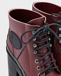 womens boots block heel s original block heel lace up bullseye boots in brown