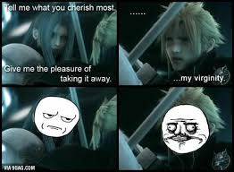 Sephiroth Meme - googled cloud vs sephiroth wasn t disappointed sports food