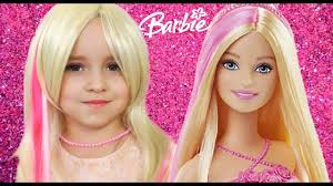 learn colors with baby songs barbie doll magic transform finger