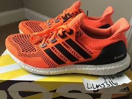 Jual Adidas Boost shops adidas cus sk ultra boost orange black reflective jual