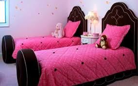 Dark Pink Bedroom - pink and brown bedrooms homes design inspiration