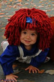 Raggedy Ann Costume Homemade Raggedy Ann Costume Photo 2 3