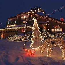 Outdoor Christmas Decorations Displays by 389 Best Christmas Lights Images On Pinterest Christmas Lights