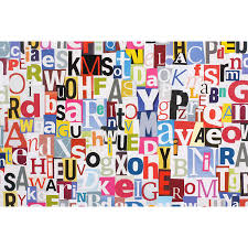 products page 27 majestic wall art magazine letters collage wall mural
