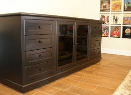Black Storage Cabinet Media Storage Cabinets With Drawers Organize Your Blu Rays Dvds