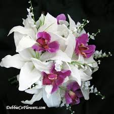 wedding flowers orchids debbiecoflowers silk wedding bouquets silk bridal bouquets