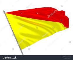 Us Navy Signal Flags 3d Illustration International Maritime Signal Flag Stock