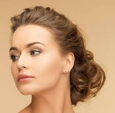 new elegant updo hairstyle