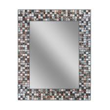 Bathroom Wall Mirror by Stainless Steel Bathroom Mirrors Bath The Home Depot