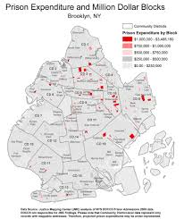 New York State Map With Cities And Towns by Million Dollar Blocks U0027 Map Incarceration U0027s Costs Npr