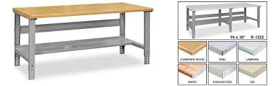 packing table with shelves work bench work benches in stock uline