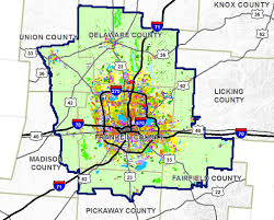 map of columbus report warns of runaway sprawl in columbus ohio archpaper com