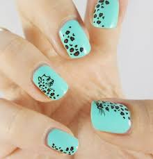 1 sheet leopard nail art water transfer stickers nails wraps