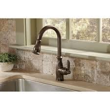 brantford kitchen faucet moen 7185orb brantford rubbed bronze pullout spray kitchen
