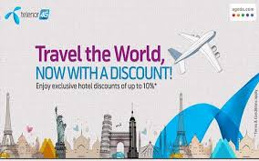 Telenor offers exclusive discount on traveling via agoda phoneworld
